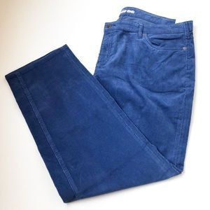 8ed68cdac4b Lands  End • Mid Rise Straight Leg Corduroy Pants